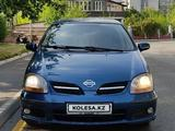 Nissan Almera Tino 2001 года за 2 700 000 тг. в Алматы