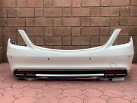 Задний бампер w222 S 6.3 AMG за 350 000 тг. в Алматы