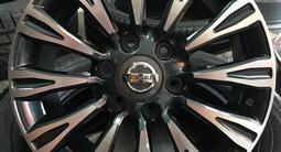 Новые усиленные фирменные авто диски R22 Nismo для Nissan Patrol за 380 000 тг. в Алматы – фото 2