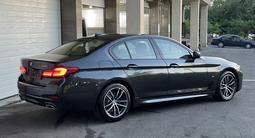 BMW 530 2020 года за 29 200 000 тг. в Алматы – фото 3