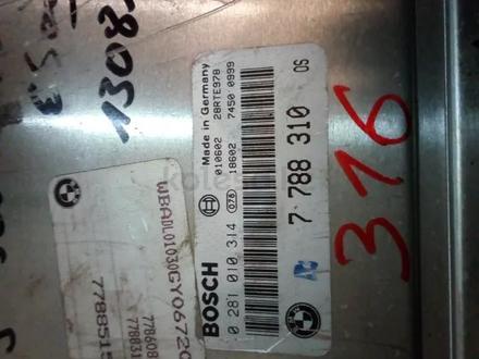 Компьютер двигателя BMW 5-серия E39 0281010314 7788310 за 20 000 тг. в Усть-Каменогорск