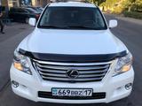Lexus LX 570 2011 года за 17 500 000 тг. в Шымкент – фото 2
