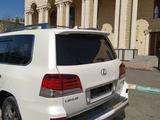 Lexus LX 570 2013 года за 25 000 000 тг. в Шымкент – фото 3