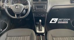 Volkswagen Polo 2016 года за 5 010 000 тг. в Павлодар – фото 5
