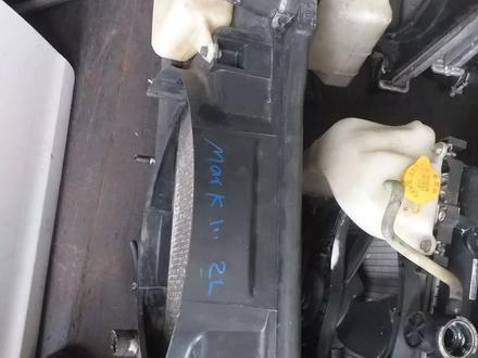 Радиатор на Toyota Mark 100 за 333 тг. в Алматы – фото 2
