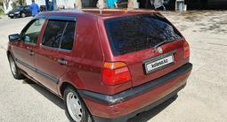 Volkswagen Golf 1992 года за 1 300 000 тг. в Шымкент – фото 4