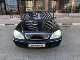 Mercedes-Benz S 55 2002 года за 5 000 000 тг. в Шымкент – фото 3