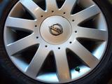 Диски литые 7jj 17 ЦО 66, 1 ЕТ45 5*114, 3 с резиной Dunlop SP Sport 215/50 за 160 000 тг. в Рудный – фото 4