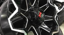 Эксклюзивные диски Toyota Prado 4Runer за 450 000 тг. в Нур-Султан (Астана) – фото 2