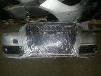 Бампер передний Audi а6 с6 рестаил за 120 000 тг. в Алматы