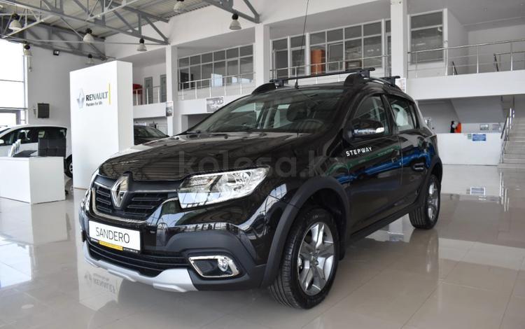 Renault Sandero Stepway Drive MT 2020 года за 7 467 599 тг. в Актау