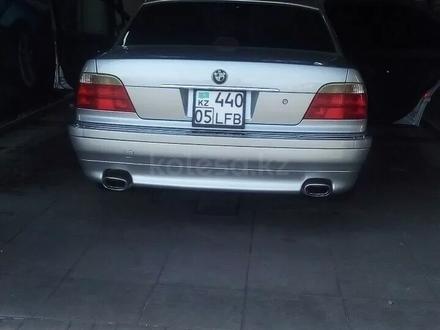 BMW 740 1999 года за 3 000 000 тг. в Алматы – фото 4