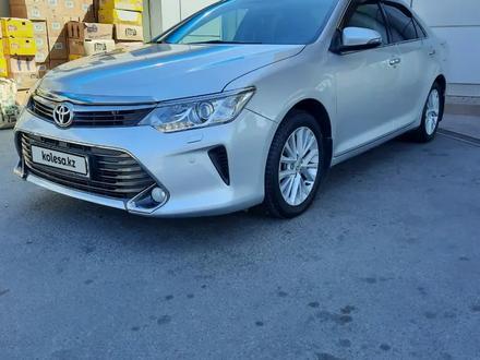 Toyota Camry 2015 года за 10 900 000 тг. в Шымкент – фото 3