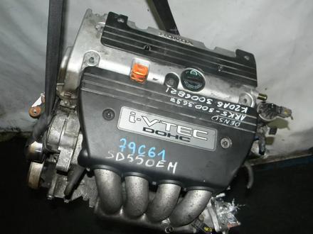 Двигатель Honda Accord k20a6 2, 0 за 190 000 тг. в Челябинск – фото 2