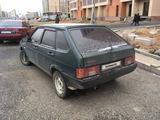 ВАЗ (Lada) 2109 (хэтчбек) 2001 года за 550 000 тг. в Нур-Султан (Астана) – фото 2