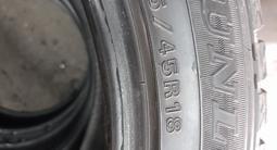 Шины DUNLOP зима липучка 255.45.18 за 120 000 тг. в Семей