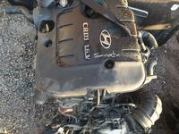 Двигатель на Хюндай Санта фе2.2 diesel за 750 000 тг. в Алматы