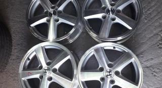 Диски r16 5x114.3 Honda, 6.5Jj, ET 55, из Японии за 93 000 тг. в Алматы