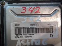 Компьютер двигателя OPEL ASTRA G 2.2 coupe 09378673 86dkbjk2018002b1 за 18 000 тг. в Усть-Каменогорск