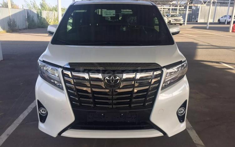 Toyota Alphard 2017 года за 32 900 000 тг. в Алматы