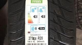 Зимние новые шины Nokian WR SUV 3 XL за 300 000 тг. в Алматы