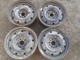 Оригинальные металлические диски на Alfa Romeo (R15 5*98 ЦО58 6.5 за 35 000 тг. в Нур-Султан (Астана)
