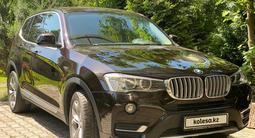 BMW X3 2015 года за 10 900 000 тг. в Алматы