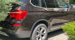 BMW X3 2015 года за 10 900 000 тг. в Алматы – фото 2