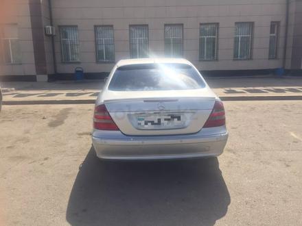 Mercedes-Benz E 240 2002 года за 3 800 000 тг. в Нур-Султан (Астана) – фото 5