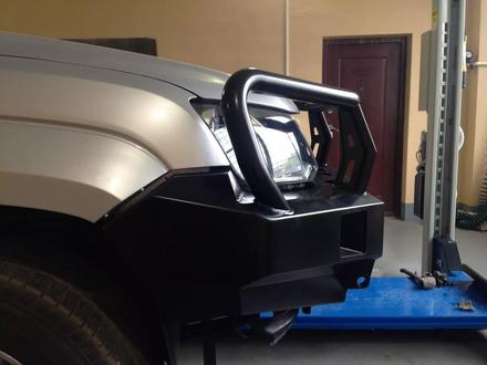 Бампер РИФ передний VW Amarok с доп. Фарами без защитной… за 242 000 тг. в Алматы – фото 3