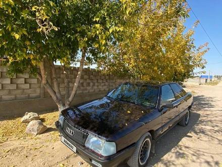 Audi 100 1987 года за 850 000 тг. в Шу – фото 6