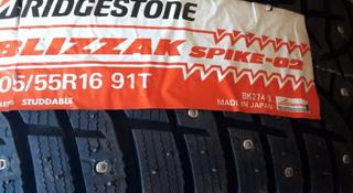Шины Bridgestone 205/55/r16 Spike-02 за 33 500 тг. в Алматы