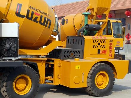 Автобетоносмеситель с самозагрузкой (миксер) завода Luzun 1-4 куба в Алматы – фото 14