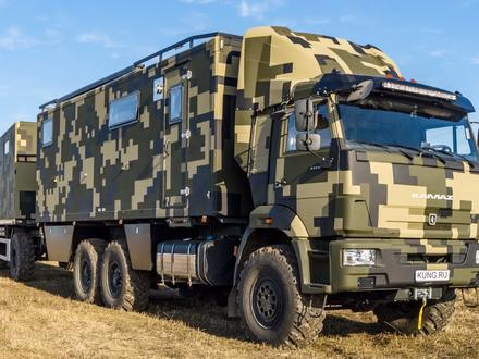 КамАЗ  43118 премиум-автодом с хамамом 2020 года за 79 750 000 тг. в Нижний Новгород