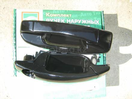 Комплект ручек дверей черные Урбан за 6 000 тг. в Алматы – фото 7