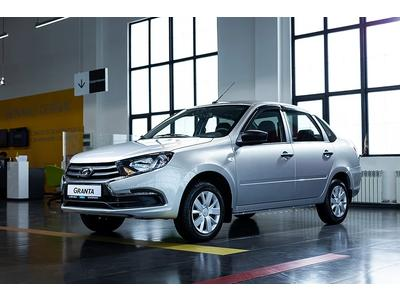 ВАЗ (Lada) Granta 2190 (седан) Standart 2021 года за 3 665 000 тг. в Семей