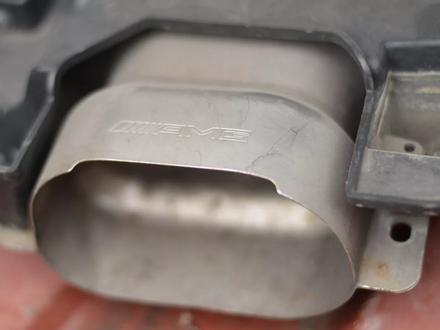 Задний бампер AMG на МЕРСЕДЕС W222 S500 за 1 000 тг. в Алматы – фото 8