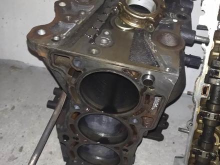 Заряженный блок двигателя на Nissan Almera 1.8 QG18 за 60 000 тг. в Алматы