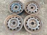 Оригинальные металлические диски на Ford (R14 4*108 ЦО63.4 6J ЕТ за 12 000 тг. в Нур-Султан (Астана)