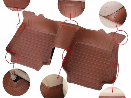 Кожаные 3D модельные коврики- полики класса LUXE! за 15 000 тг. в Алматы – фото 10