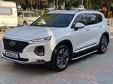 Hyundai Santa Fe 2020 года за 16 300 000 тг. в Алматы – фото 3