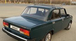 ВАЗ (Lada) 2107 2007 года за 550 000 тг. в Костанай – фото 2
