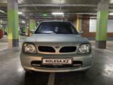 Nissan Micra 2001 года за 1 800 000 тг. в Нур-Султан (Астана) – фото 2