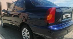 Chevrolet Lanos 2008 года за 1 200 000 тг. в Уральск – фото 5