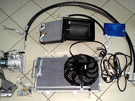 Радиатор охлаждения Toyota LAND Cruiser 1hd-FTV 4.2Td за 50 000 тг. в Алматы – фото 2