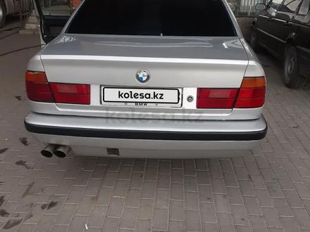 BMW 525 1993 года за 1 300 000 тг. в Шу – фото 8