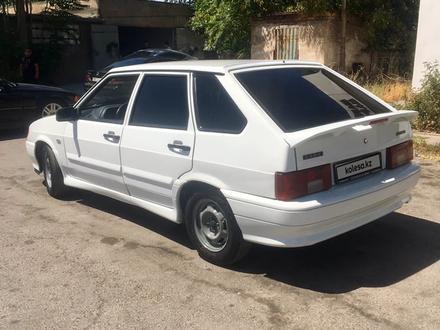 ВАЗ (Lada) 2114 (хэтчбек) 2012 года за 1 350 000 тг. в Шымкент – фото 3