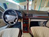 Mercedes-Benz S 320 1997 года за 3 950 000 тг. в Тараз – фото 5