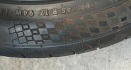 Диски 17 на Тойота с летней резиной 225/45/17 за 150 000 тг. в Алматы – фото 4