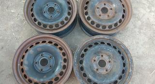 Оригинальные железные диски на Ауди 100, А4 R15 (Германия 5*112 ЦО за 16 000 тг. в Нур-Султан (Астана)